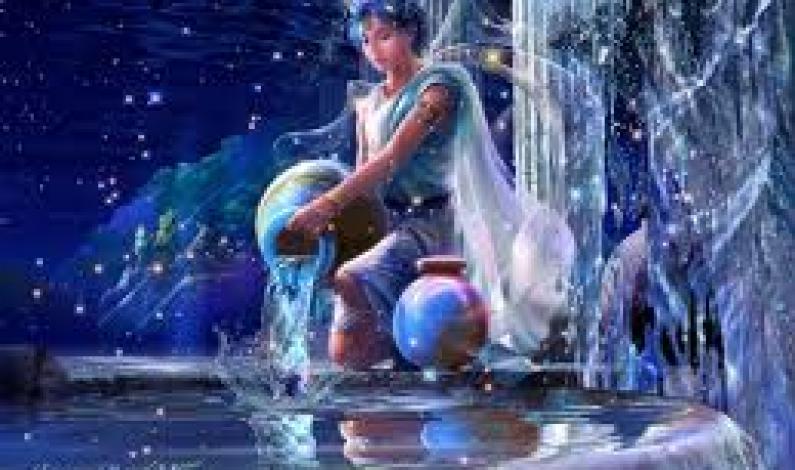 A Zodiac Sign: Aquarius
