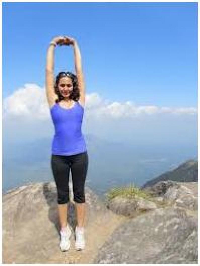 Tadasana Or Mountain Yoga Pose