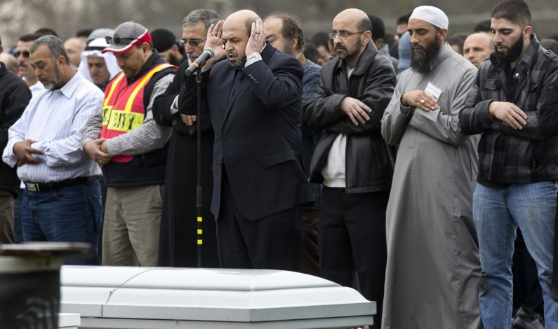 Thousands attend funeral for Muslim students shot in Chapel Hill
