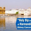 Holy Dip Cures Kidney Cancer