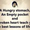 Best Teachers: Hunger, Poverty & Tough Times