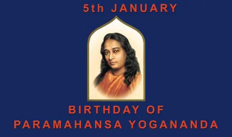 Happy Birthday To Sri Paramhansa Yogananda Ji