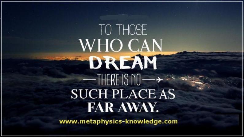 No Dream Is Far Away