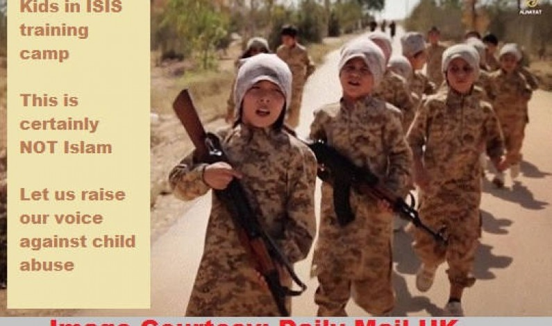 ISIS Kids: This is certainly not Islam