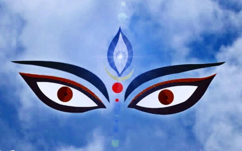 Why Goddess Durga Appears as TriNayani?
