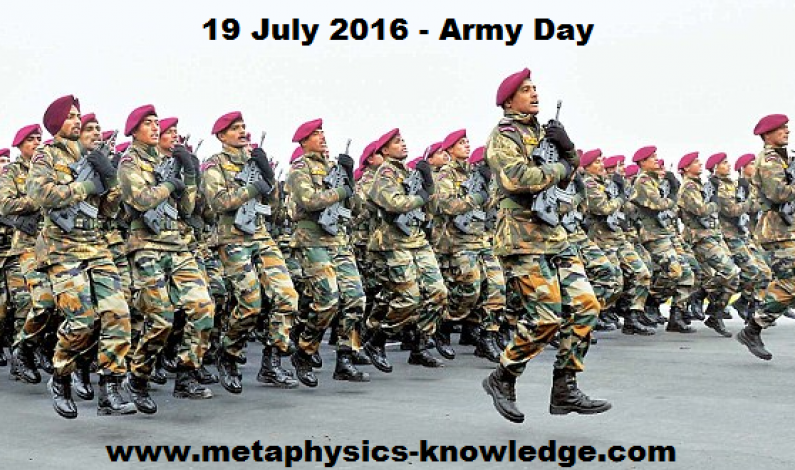 Army Day 19 June 2016