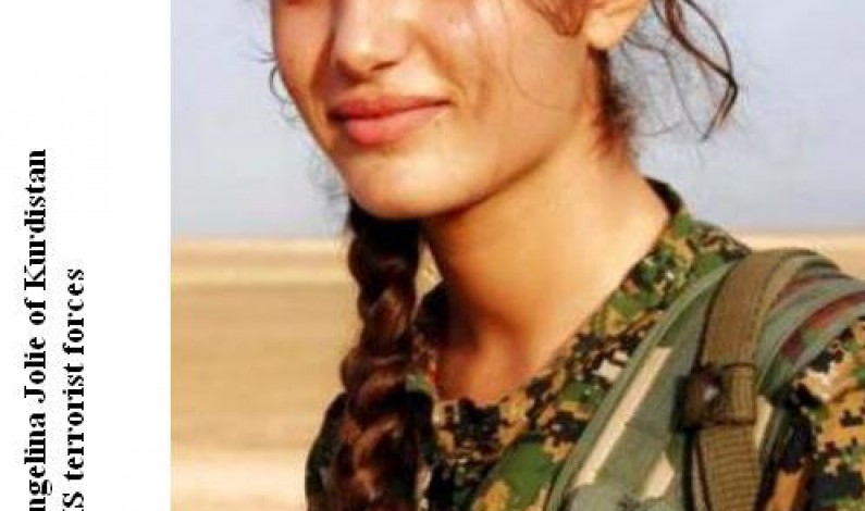 Asia Ramadan: Kurdish Angelina Fights Till The End Against ISIS