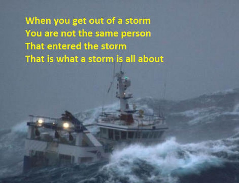 The Ins and Outs of a Storm