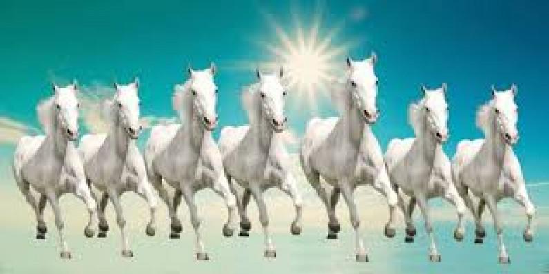 The Seven Running Horses