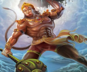 Bajrang Bali Lord Hanuman