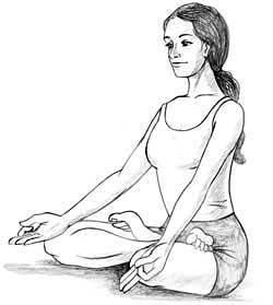 Lotus Pose Padamasana