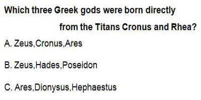 11 Greek Mythology Guessing the Family Tree!