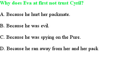 3 Pure at Heart (protector's) -- Quiz )