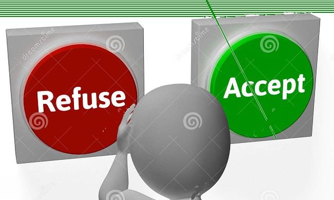 refuse-accept